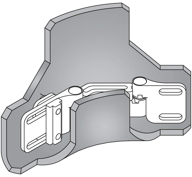 Lateral Hardware Cover